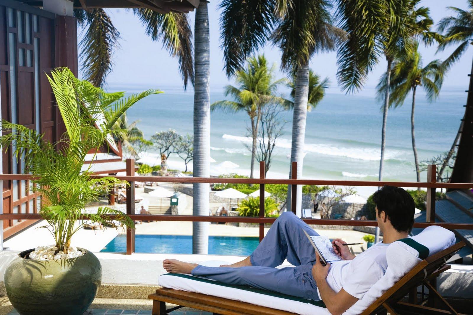 Chiva Som Private Balcony