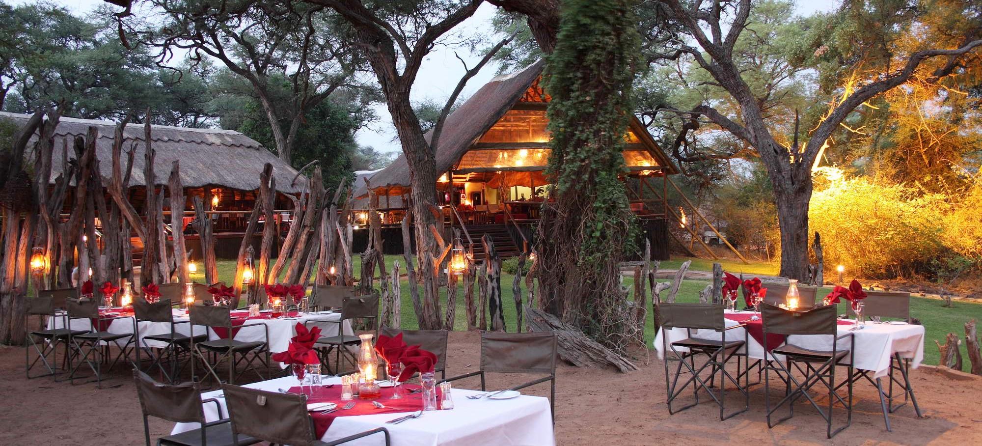 Elephant Valley Lodge Boma