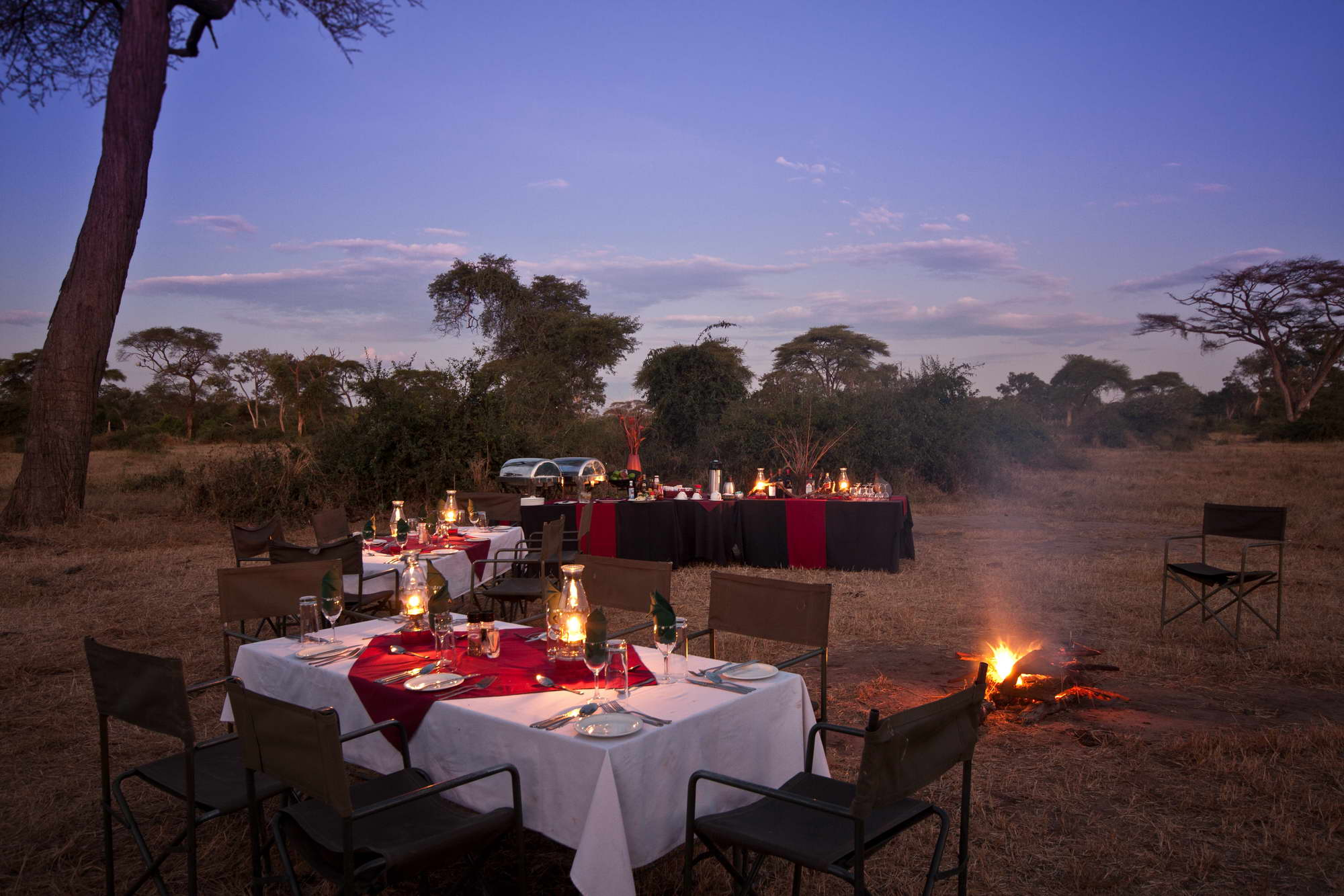 Elephant Valley Lodge Boma Dinner 2