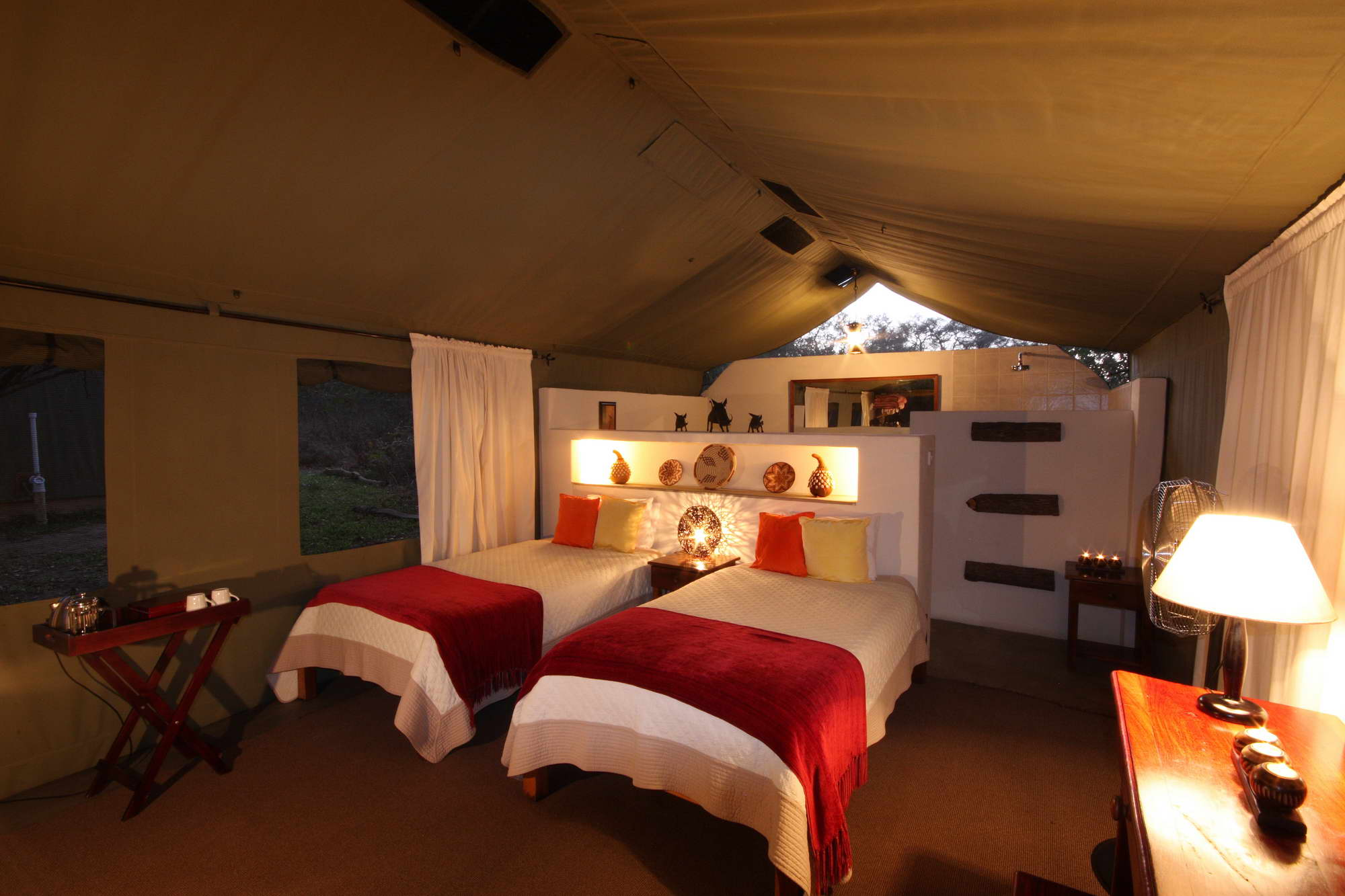 Elephant Valley Lodge Luxury Tent 2