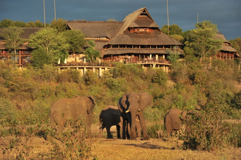 Victoria Falls Safari Lodge Signature Shot
