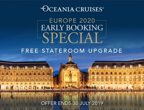 Oceania Cruises – Europe 2020 Early Booking Special | FREE Stateroom Upgrade