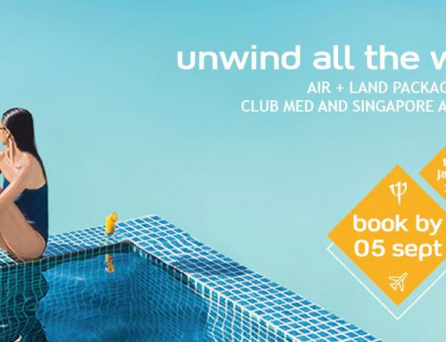 Unwind All The Way with Club Med & Singapore Airlines