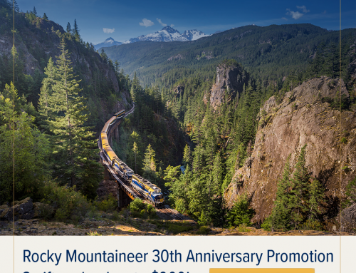 Rocky Mountaineer – 30th Anniversary Sale